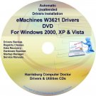 eMachines W3621 Drivers Restore Recovery CD/DVD