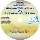 eMachines W3611A Drivers Restore Recovery CD/DVD