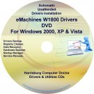 eMachines W1800 Drivers Restore Recovery CD/DVD