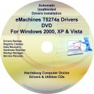 eMachines T5274a Drivers Restore Recovery CD/DVD