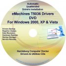 eMachines T5036 Drivers Restore Recovery CD/DVD