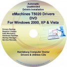 eMachines T5020 Drivers Restore Recovery CD/DVD