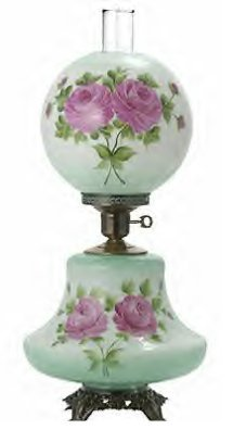 20385 Gone With the Wind Lamp