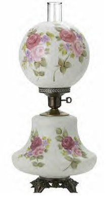 20386 Gone With the Wind Lamp