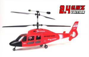 E-Sky coaxial Dauphin Helicopter (RTF)