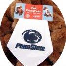 Penn State University PSU Nittany Lions Dog Bandana Official NCAA Sports Pet Apparel