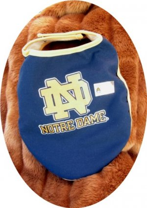 Notre Dame Fighting Irish Officially Licensed NCAA Team Dog Wrap Size Medium