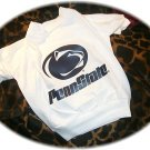Penn State University PSU Nittany Lions NCAA Football Dog Tee Shirt Large Size