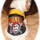 Custom Made Pittsburgh Pirates Dog Coat Small Size