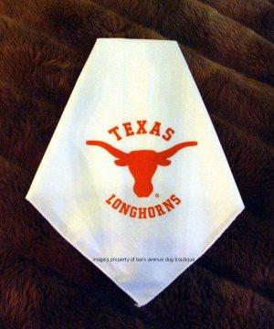 Texas Longhorns Dog Bandana Official NCAA Sports Pet Apparel