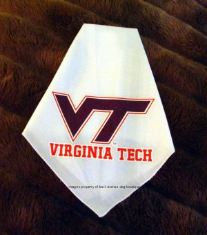 Virginia Tech Hokies Dog Bandana Official NCAA Sports Pet Apparel