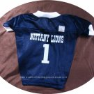 Penn State Nittany Lions PSU Deluxe NCAA Sports Logo Dog Football Jersey Petite Size