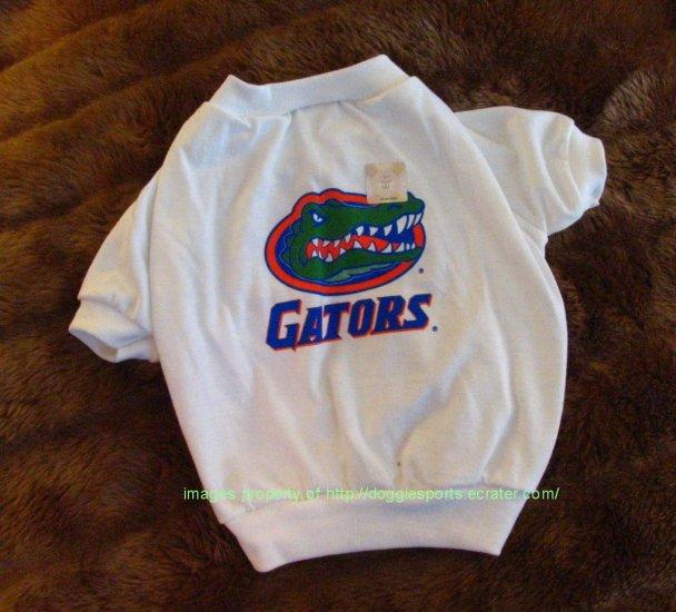 Florida Gators NCAA Sports Dog Apparel Football Tee Shirt Petite Size