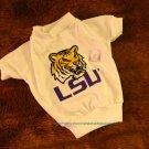 Louisiana State LSU Tigers NCAA College Sports Dog Tee Shirt Large