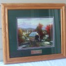 Thomas Kinkade Country Memories HTF Retired Library Edition w/ COA
