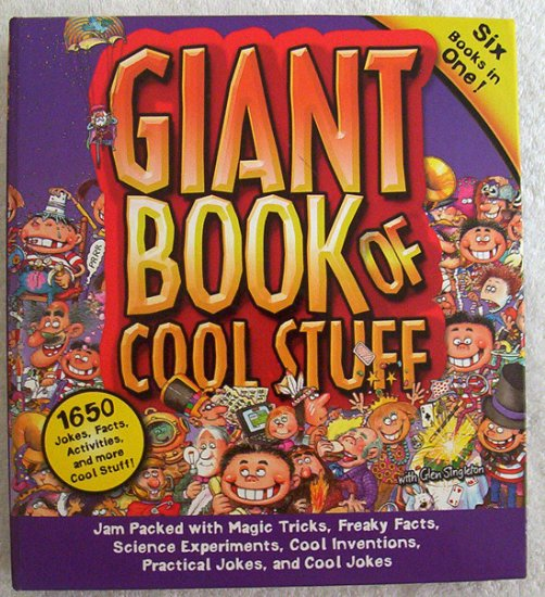 Giant Book Of Cool Stuff - 6 Books in One - Brand New!