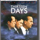 Thirteen Days Kevin Costner DVD - EUC