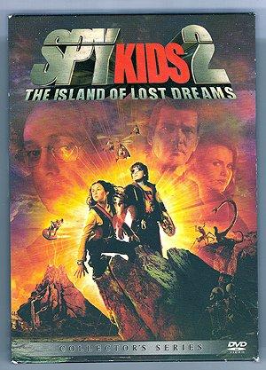 Spy Kids 2 Island Of Lost Dreams Collectors Ed DVD EUC