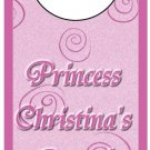 Pink Princess Door Hanger