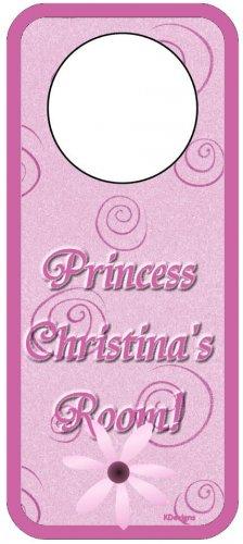 Pink Princess Door Hanger