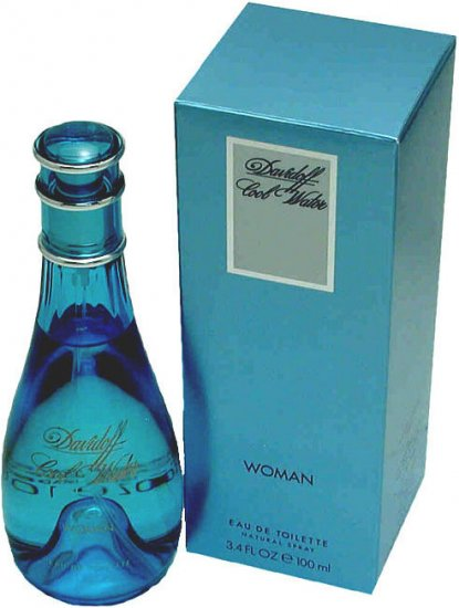 Women's - Davidoff Cool Water 100mL/3.4 oz