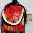 Backpack Style Cell Phone Bag Holder Coin Purse Groovy Tie Dye Chinglish Slogans #0199