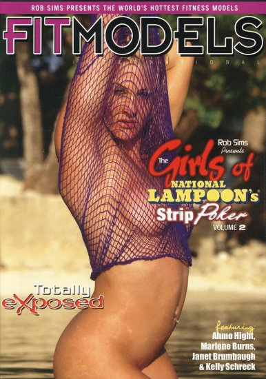 GIRLS OF NATIONAL LAMPOONS STRIP POKER, VOL- 2 NEW DVD SEALED