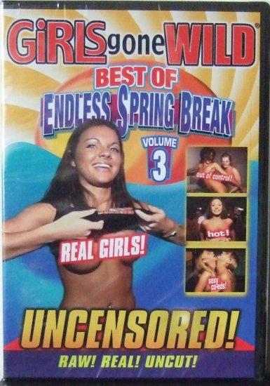 GIRLS GONE WILD - BEST OF ENDLESS SPRING BREAK VOL-3 NEW DVD SEALED