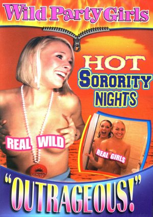 WILD PARTY GIRLS - HOT SORORITY NIGHTS NEW DVD SEALED