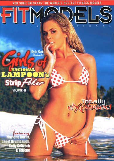 GIRLS OF NATIONAL LAMPOONS STRIP POKER, VOL- 6 NEW DVD SEALED