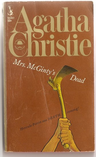 Mrs. Mcginty's Dead by Agatha Christie - Vintage Pprback 1967