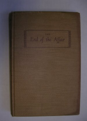The End of the Affair by Graham Greene hardback Viking Ed. 1951