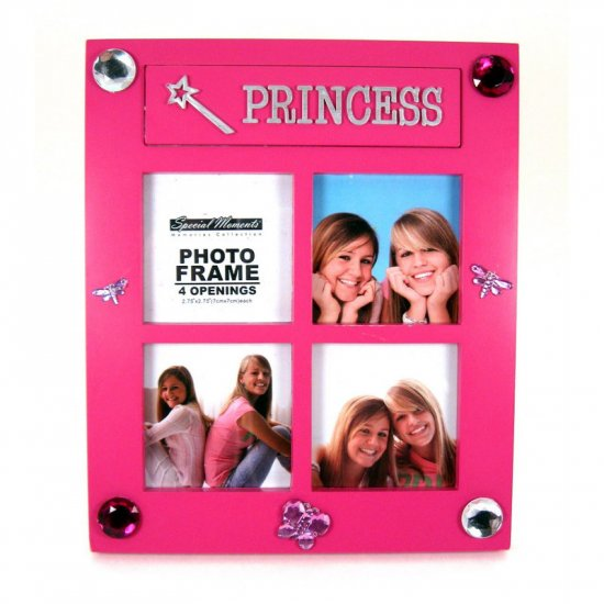 Pink Princess Picture Frame