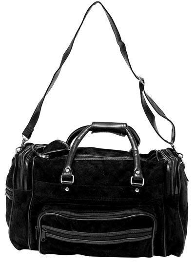 Maxam Brand Genuine Suede Leather Tote Bag