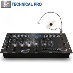 4 CHANNEL DIGITAL PRE-AMP MIXER-PP2349