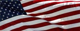 American Flag 1 - Truck Window Perf