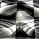 Racing Flag w/ Chrome - Truck Window Perf