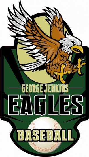 Baseball Decal - George Jenkins High School