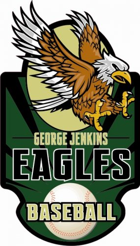 Baseball Decal - George Jenkins High School
