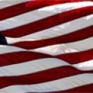 American Flag 1 - Car Window Perf