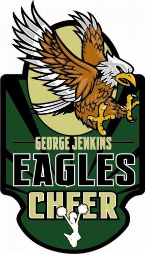 Cheer Decal - George Jenkins High School