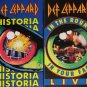 4 Def Leppard VHS tapes 80s