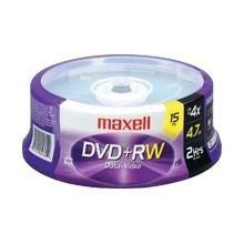 Maxell DVD+RW 15 Pk Spindle