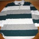 NWT Stefano Basics White Green Grey 14 / 16 W w/ Zipper