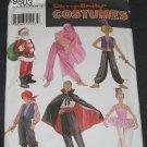 Simplicity 9803 Pattern Santa, Pirate, Genie, Ballerina, Dracula, Bellydancer Pattern