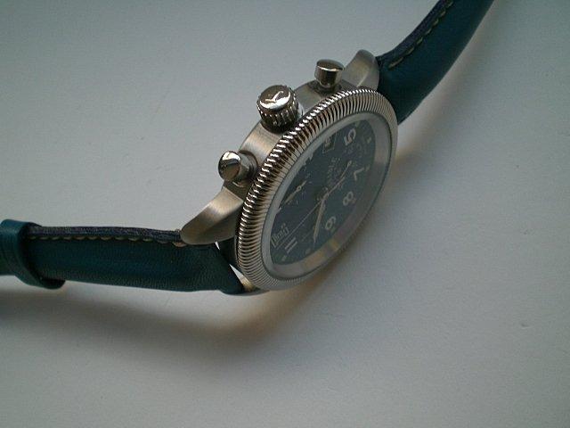 Faconnable Chrono Swiss Quartz Watch French Design