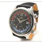 Marco Polo World Time Watch Black Dial Swiss Quartz