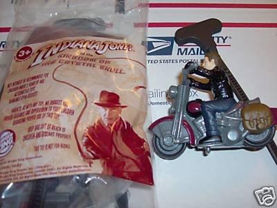 Indiana Jones Motor Wheels Mutt Crystal Skull Action Hero Bk Toy