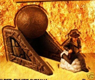 Indiana Jones Boulder Escape Crystal Skull Bk Toy