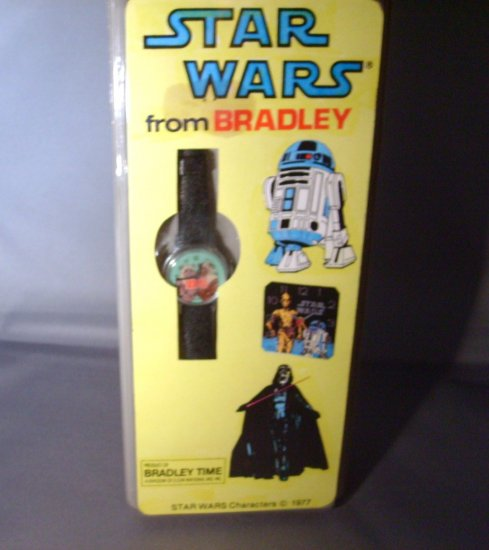 Star Wars Ewoks ROTJ Return Of The Jedi Windup Bradley Watch MNMP